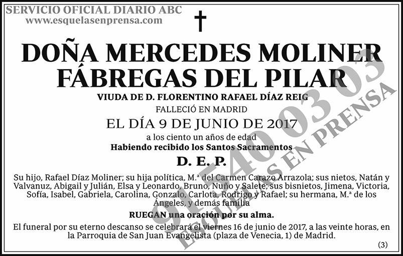 Mercedes Moliner Fábrigas del Pilar